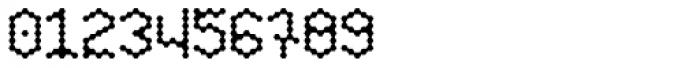 Hexagona Digital Light Font OTHER CHARS