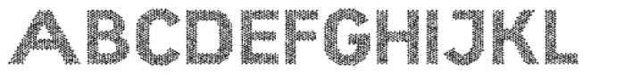 Hexial Bold Chaotic Font UPPERCASE