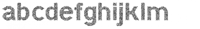 Hexial Bold Chaotic Font LOWERCASE