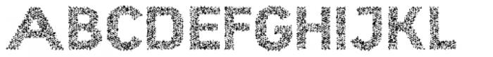 Hexial Bold Crazy Font UPPERCASE