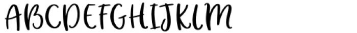 Hey Girl Regular Font UPPERCASE