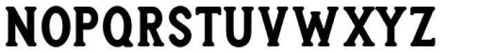 Heyday Serif Font UPPERCASE