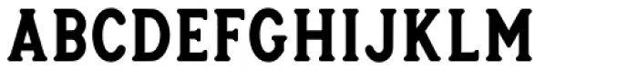Heyday Serif Font LOWERCASE