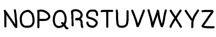 HF003 Font UPPERCASE