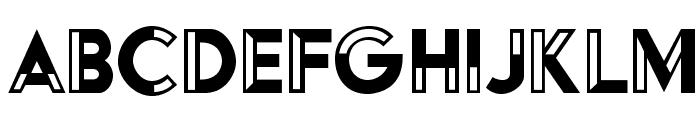 HFF Black Steel Font LOWERCASE