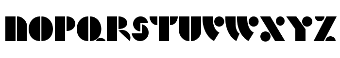 HFF Hunts Deco Font UPPERCASE