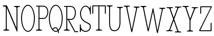 HFF Light Petals Font UPPERCASE