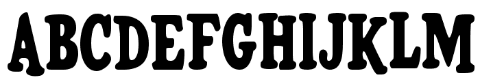 HFF Pure Vain Font UPPERCASE