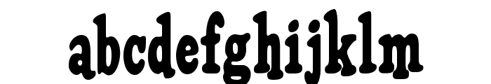 HFF Pure Vain Font LOWERCASE