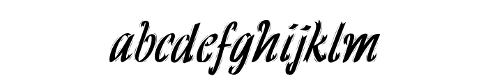 HFF Ribbon Font LOWERCASE