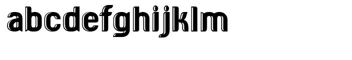 HF American Diner Regular Font LOWERCASE