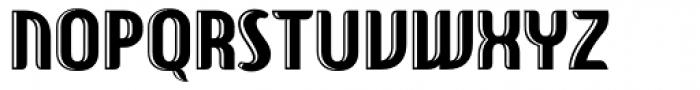 Hf American Diner Inline Font UPPERCASE