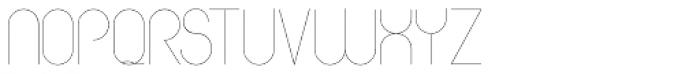 HGWelles Ultra Light Font UPPERCASE