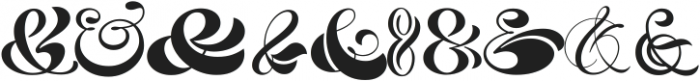 HH Ampersand Pack ttf (400) Font OTHER CHARS