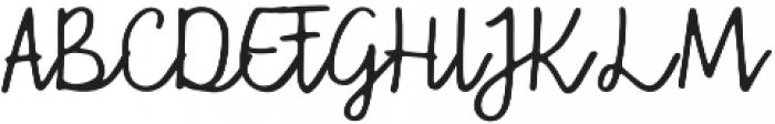 Hi Sunshine Regular otf (400) Font UPPERCASE