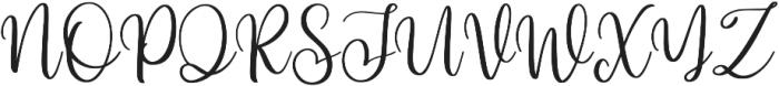Hi Virginia otf (400) Font UPPERCASE