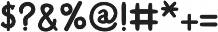 HiddenTown Regular otf (400) Font OTHER CHARS