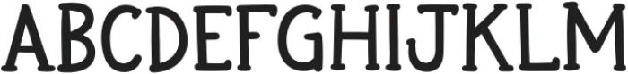 HiddenTown Regular otf (400) Font UPPERCASE