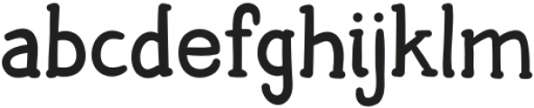 HiddenTown Regular otf (400) Font LOWERCASE