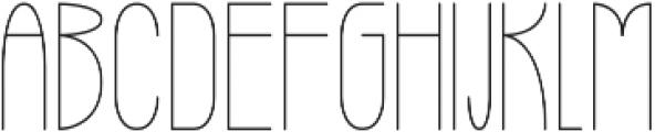 High Altitude ttf (400) Font UPPERCASE