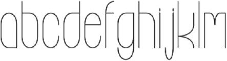 High Altitude ttf (400) Font LOWERCASE