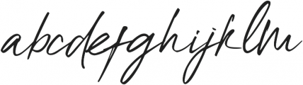 High Dreaming Alt otf (400) Font LOWERCASE