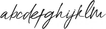 High Dreaming Alt ttf (400) Font LOWERCASE