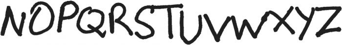 High Scool ttf (400) Font UPPERCASE