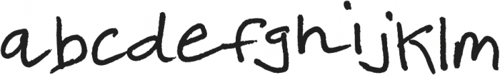 High Scool ttf (400) Font LOWERCASE