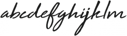High Tide ttf (400) Font LOWERCASE