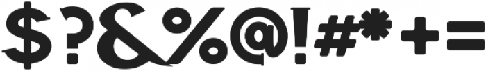 Highbinder ttf (400) Font OTHER CHARS
