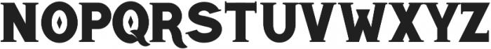 Highbinder ttf (400) Font LOWERCASE
