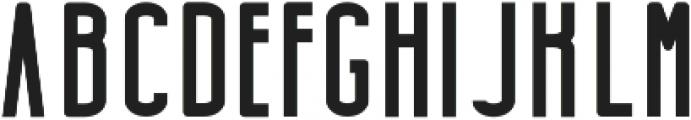 Highrise Bold otf (700) Font UPPERCASE