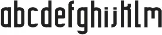 Highrise Bold otf (700) Font LOWERCASE