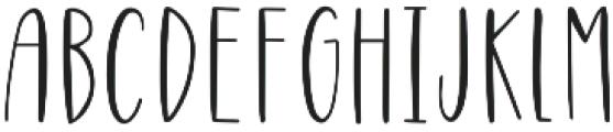 Highwaisted otf (400) Font UPPERCASE