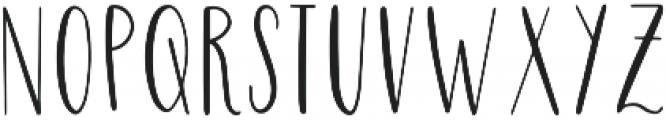 Highwaisted otf (400) Font LOWERCASE
