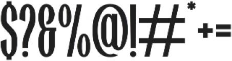 Highwind otf (400) Font OTHER CHARS