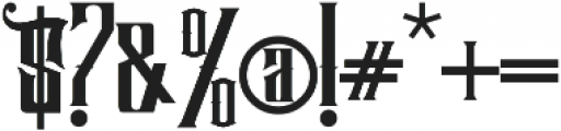 Hijrah Regular otf (400) Font OTHER CHARS