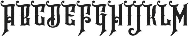 Hijrah Stamped otf (400) Font UPPERCASE