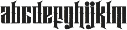 Hijrah Stamped otf (400) Font LOWERCASE
