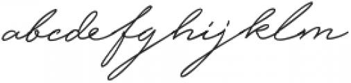 Hijrnotes ttf (400) Font LOWERCASE