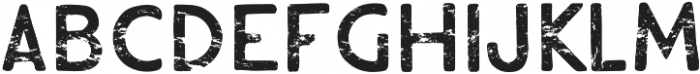 Hiker Distressed otf (400) Font LOWERCASE