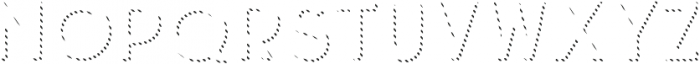 Hiker Shadow Two otf (400) Font LOWERCASE