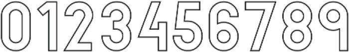 Hikou Outline otf (400) Font OTHER CHARS