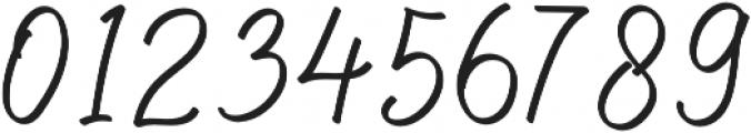 Hilburg Script otf (400) Font OTHER CHARS