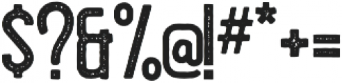 Hillstown Condensed Aged otf (400) Font OTHER CHARS