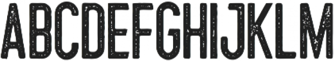 Hillstown Condensed Aged otf (400) Font LOWERCASE