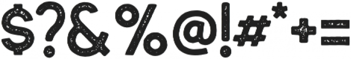 Hillstown Sans Aged otf (400) Font OTHER CHARS