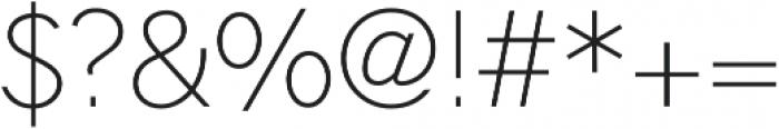 Hilton Sans Regular otf (400) Font OTHER CHARS