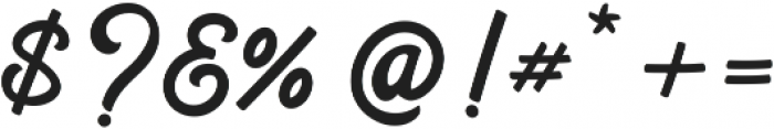 Hilton Script otf (400) Font OTHER CHARS